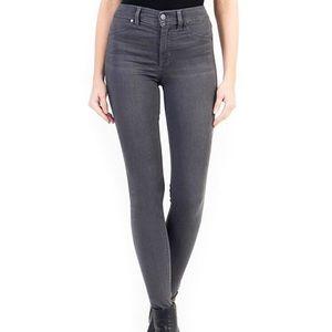 LEVEL 99   Grey Tanya High Rise Skinny Jeans 26